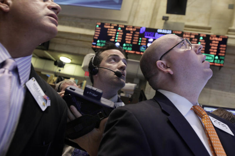 Stocks record biggest gains of year; Dow up 218