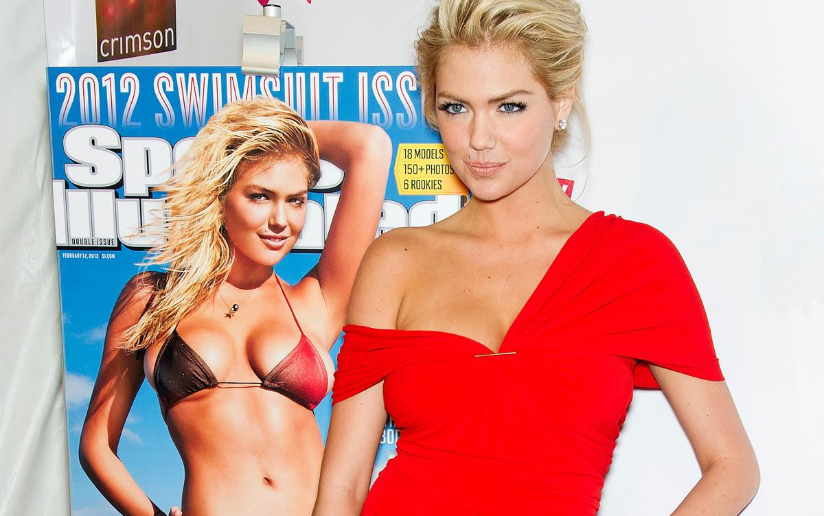"""The social media savvy Kate Upton had roles in """"The Heist"""" and """"The Three Stooges"""" comedies, but her nonspeaking part as the cover girl for the Sports Illustrated Swimsuit Edition developed her following. (Gilbert Carrasquillo/FilmMagic)"""