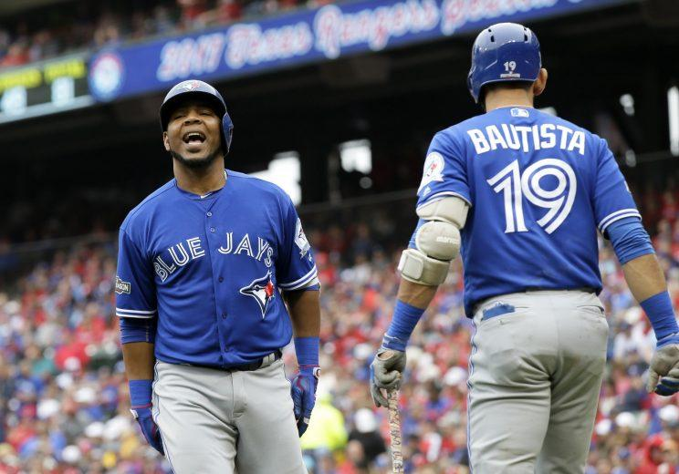 The Blue Jays extended qualifying offers to both Jose Bautista and Edwin Encarnacion. (AP)
