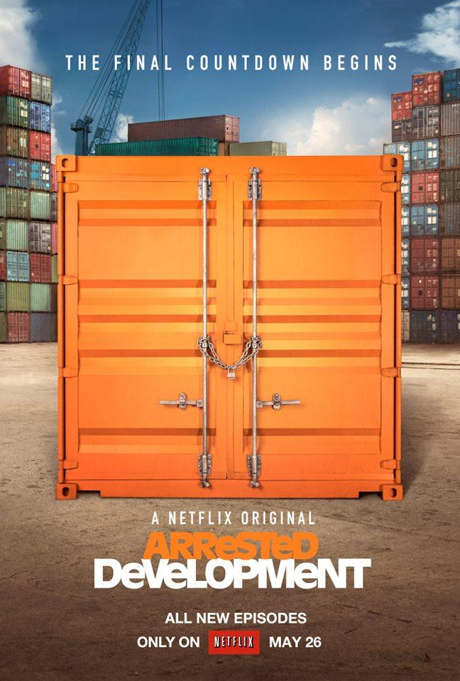 "Teaser poster for ""Arrested Development"" Season 4 on Netflix."