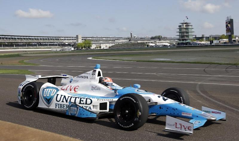 Carpenter grabs top seed in Indy's pole shootout