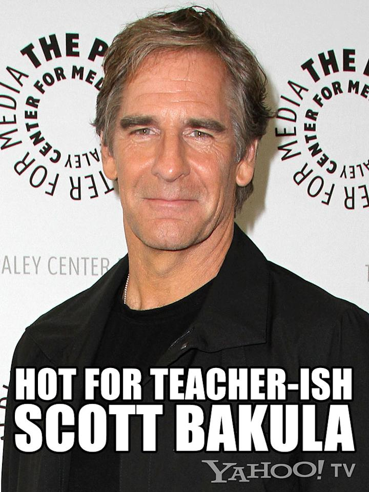 <strong>Scott Bakula<br /><br /></strong>He's the godfather of all Scotts, if you think about it and search YouTube for Folgers Coffee commercials (not that we did that, because we didn't!). Ah, Bakula. He's the substitute teacher everyone crushed on freshman year of high school. You couldn't tell if he was 25 or 45, married or single. You just knew that he made cheap neckties and tight jeans look sexy. You thought that doing anything with him, even the laundry, would be fun. Yes, this St. Louis, Missouri, native will always be a man of a certain age who inspires quantum leaps of passion.