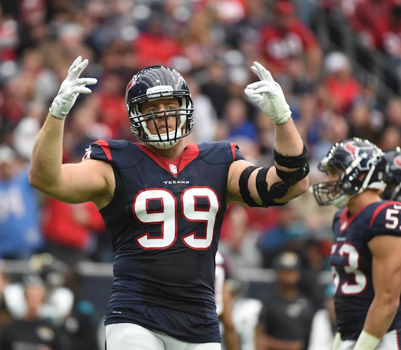JJ Watt re-injures back, could miss the rest of the season