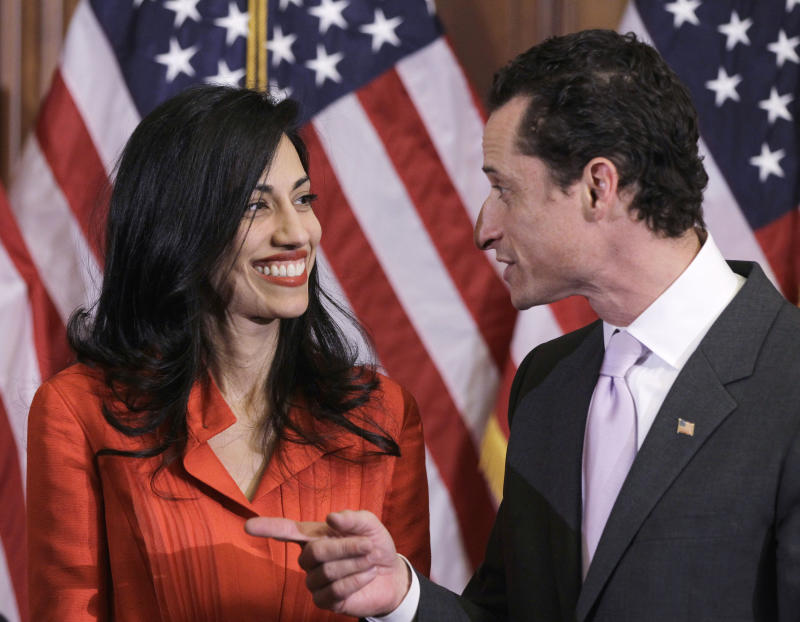 Hillary Clinton aide Huma Abedin separates from scandal-plagued husband