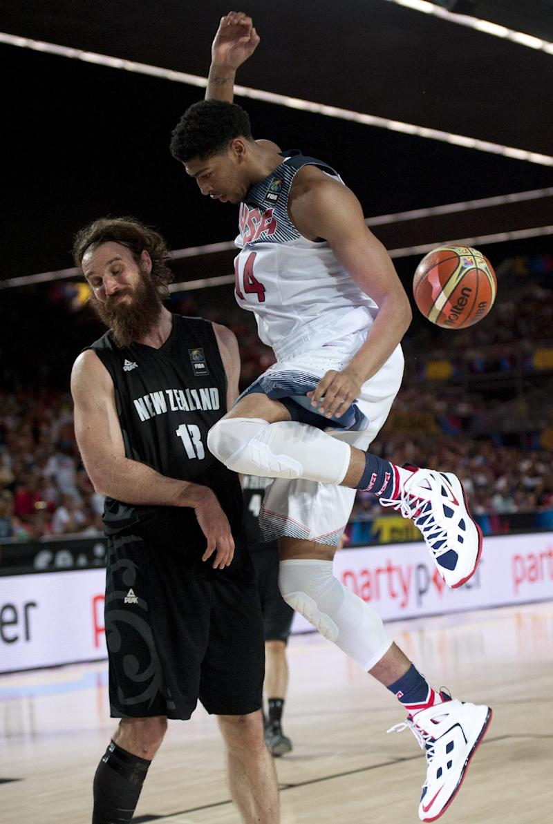 Slovenia alone atop group at basketball worlds