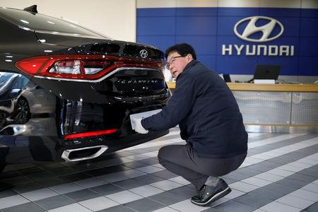Hyundai Motor's Profit Tumbles 39 Percent on Weak Car Sales