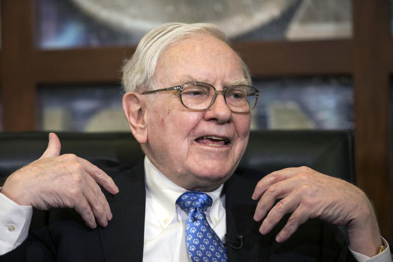 Buffett: Stocks still reasonable but bonds awful