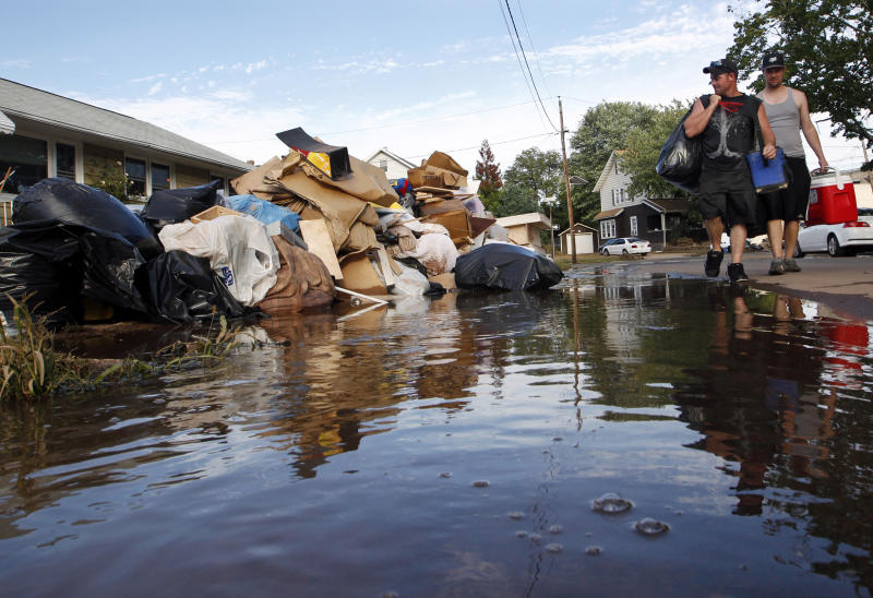 AP: Nearly 1 in 5 wrongly got Irene food aid in NJ