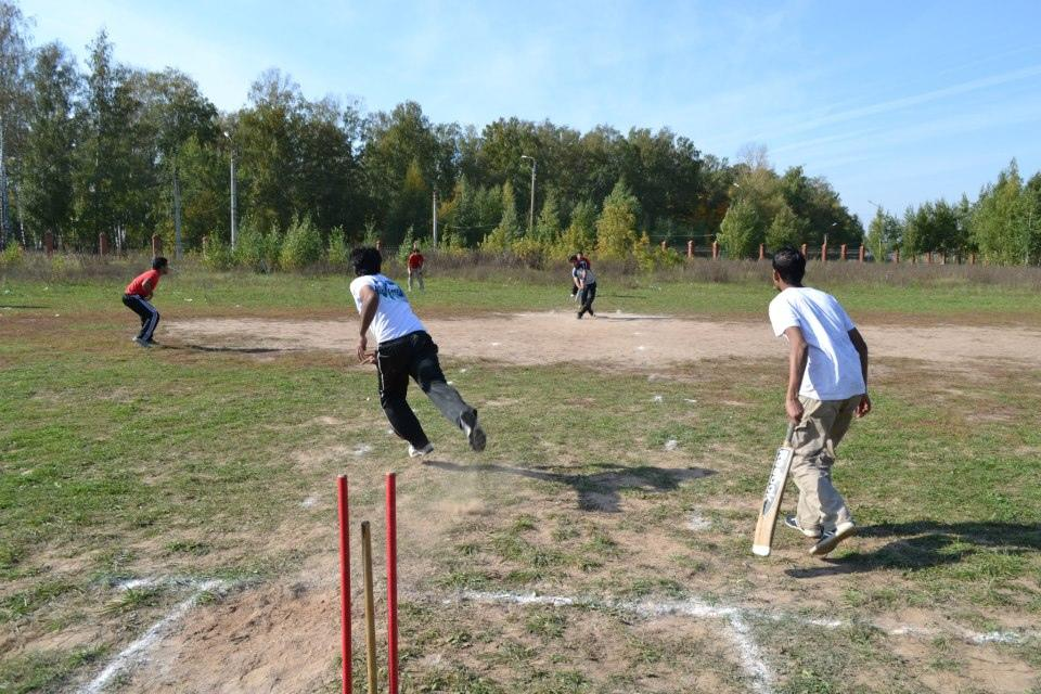 2 - Cricket in  Russia (Kazan) - Vinayak Mehetre - http://www.flickr.com/people/786512/