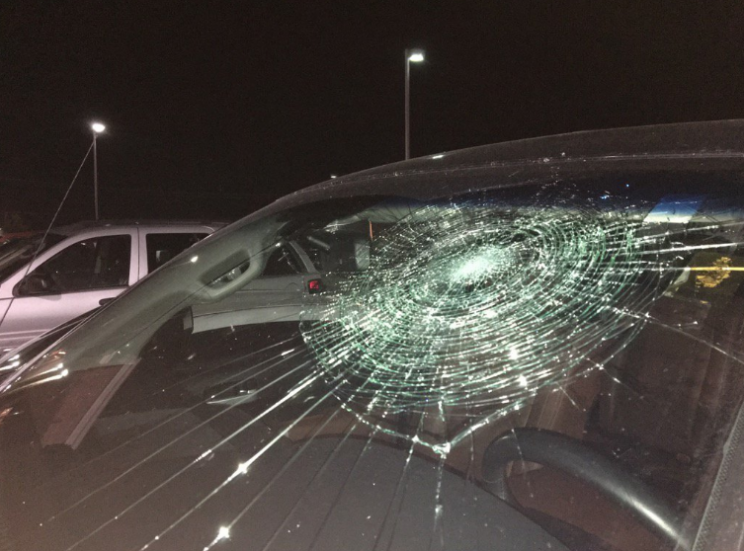 Minor leaguer hits grand slam, breaks his own windshield
