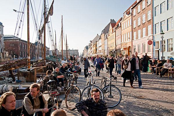 "<b>3. Denmark</b> <br>Highest income tax rate: 55.4% <br>Average 2010 income: $64,000  <br><br>Denmark's top marginal rate has come down from 62.3 percent in 2008 to 55.4 percent today after the government reached a deal to cut taxes worth $4.8 billion in 2009 to boost the economy. But the country still has the world's third-highest income tax rate. <br><br>Denmark's current top tax rate kicks in at $76,000. Dividend income and capital gains are generally taxed between 28 percent and 42 percent, while some share types can be taxed at rates up to 51.5 percent. Members of the Danish church are also liable to a tax of 0.4 percent to 1.5 percent. Other notable taxes include a real estate tax of between 1 percent and 3 percent of a property's value, while gifts to close relatives over a certain threshold are subject to a 15 percent tax.  <br><br>Denmark has gradually <a href=""http://www.oecd.org/document/47/0,3746,en_2649_34533_47423855_1_1_1_1,00.html"">decreased the tax and social security burden</a> on incomes over the last decade, according to the OECD. The tax wedge, which is income tax as a percentage of total labor costs, decreased for all families as a result of tax cuts implemented from 2000 to 2011. Single Danes with average-to-high income have benefited the most from the tax cuts.<br><br>Pictured: Copenhagen"