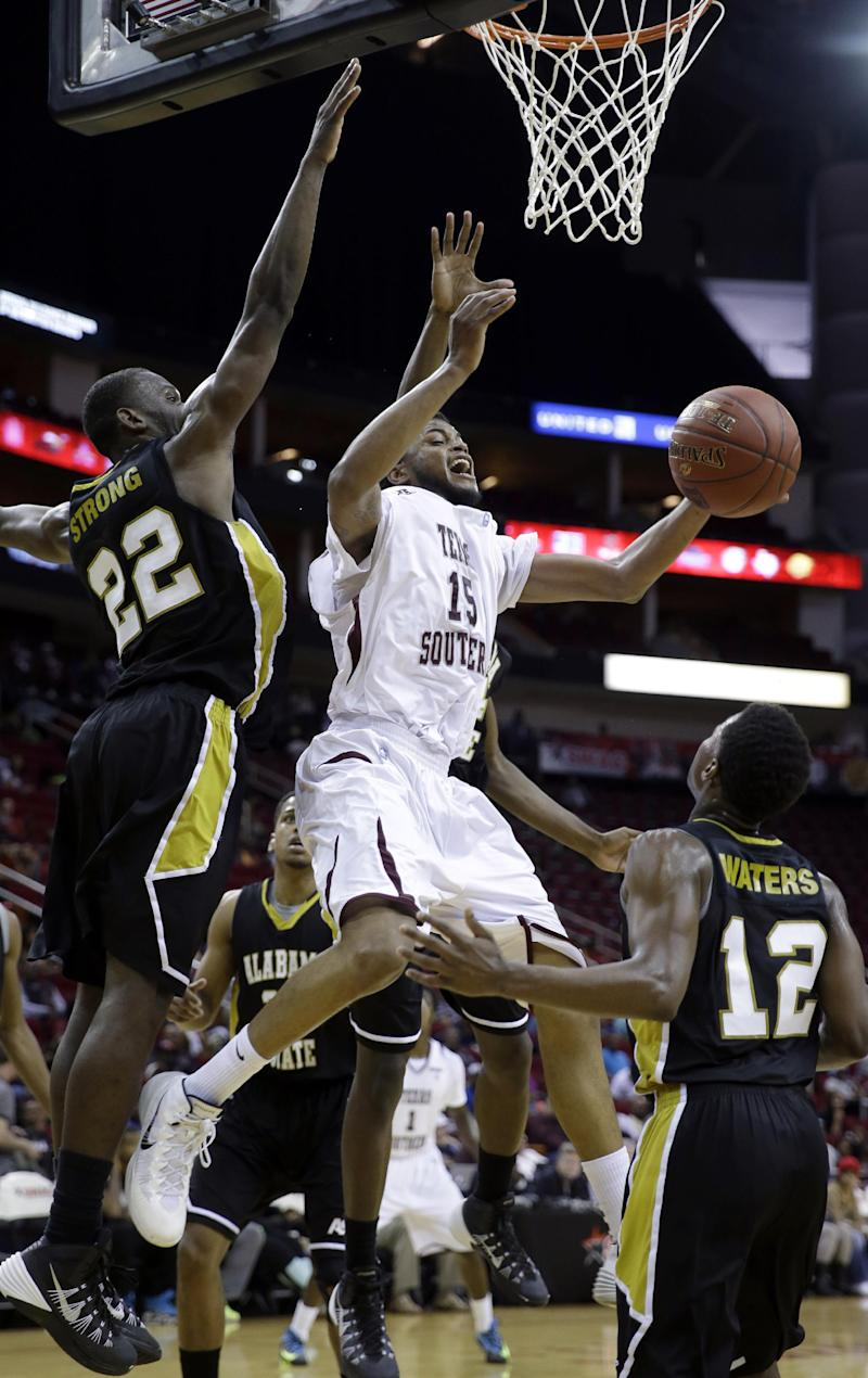 Texas Southern tops Alabama St. in SWAC semi 73-61