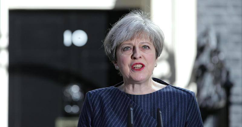 May planning UK general election for June 8