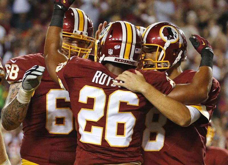 Redskins show solidarity with Ferguson protest