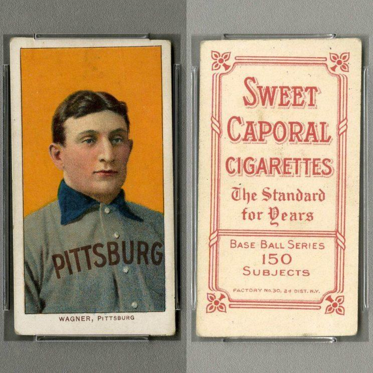 Image result for honus wagner baseball card t206