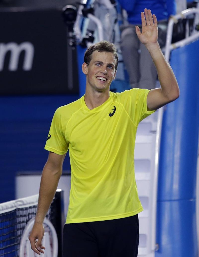 Canadian Pospisil withdraws from Australian Open