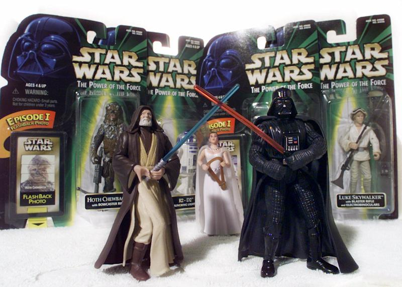 'Star Wars' figures, dominoes in Toy Hall of Fame