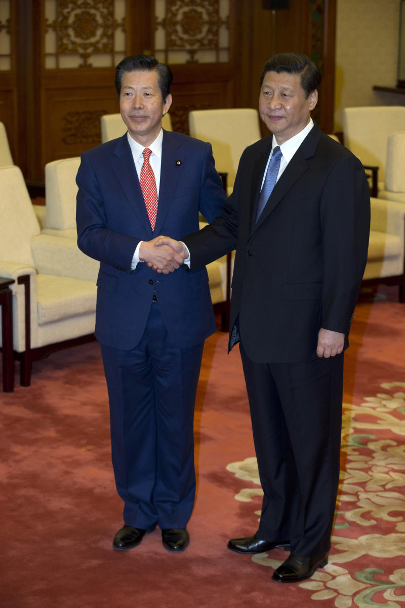 Japan gives letter to China's Xi in island dispute