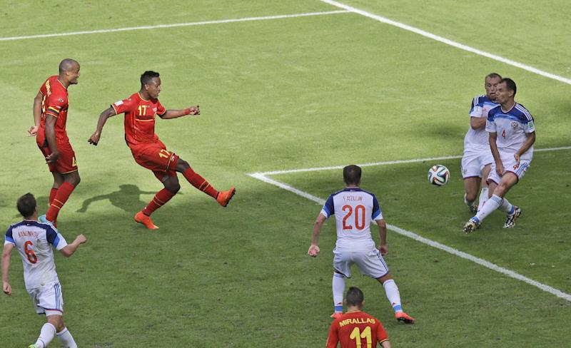 Belgium World Cup hero an unknown just last month