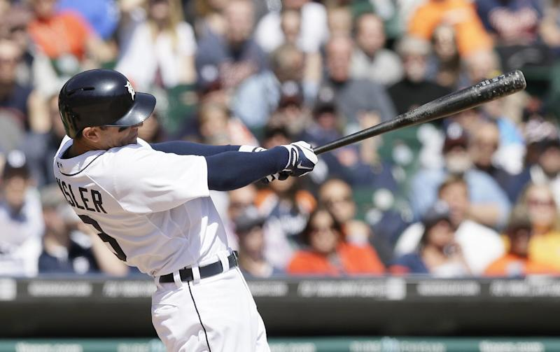 Tigers hold on for 7-5 win over Indians