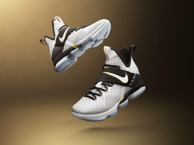 The special-edition LeBron 14. (Courtesy of Nike)