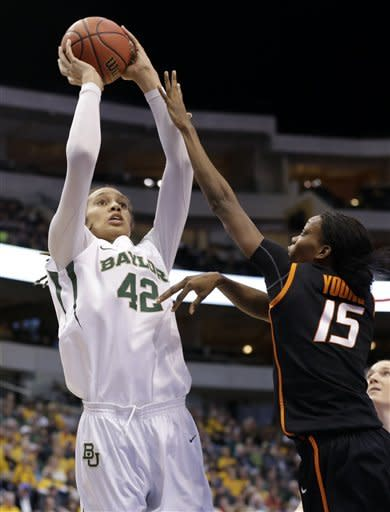 No. 1 Baylor holds on, 77-69 over Oklahoma State