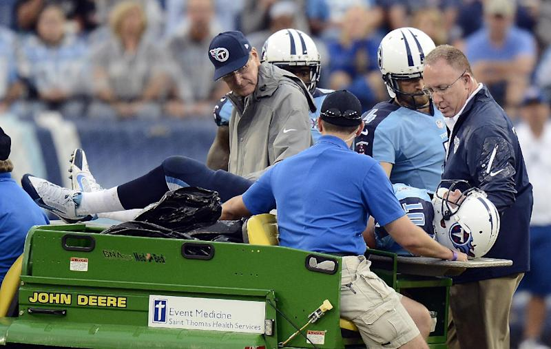 Titans: No major damage, Locker out 'few weeks'