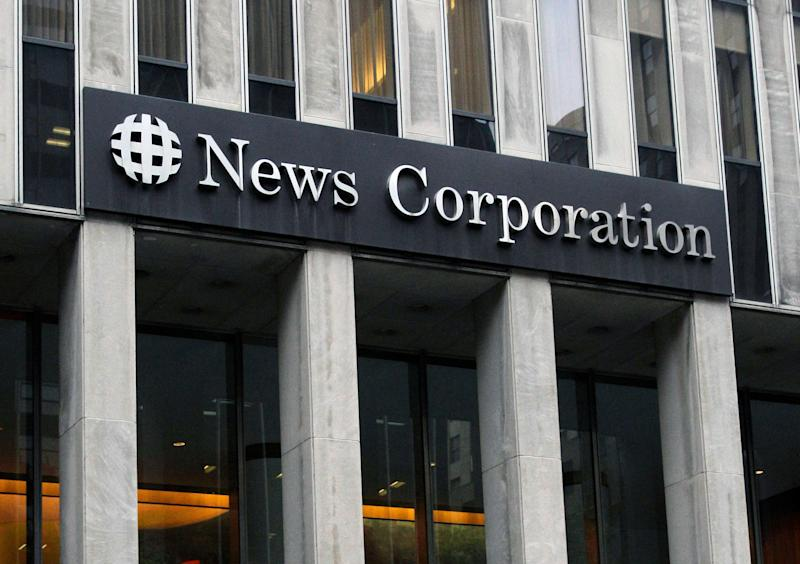 News Corp profit drops; results top Wall Street