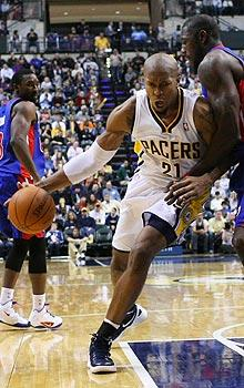 Young Pacers look West for leadership