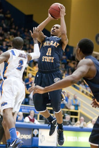 No. 12 Murray State beats Morehead State, 66-60