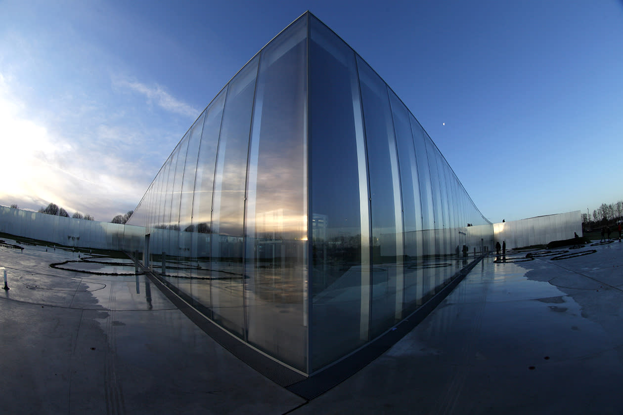 A general view of the Louvre Museum in Lens.