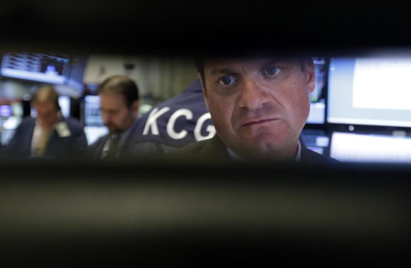 US stocks slightly higher after 4 days of declines
