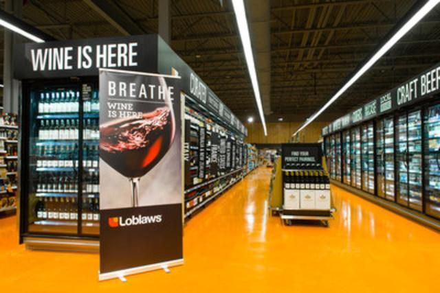Select Ontario Grocers Begin Selling Wine, Today