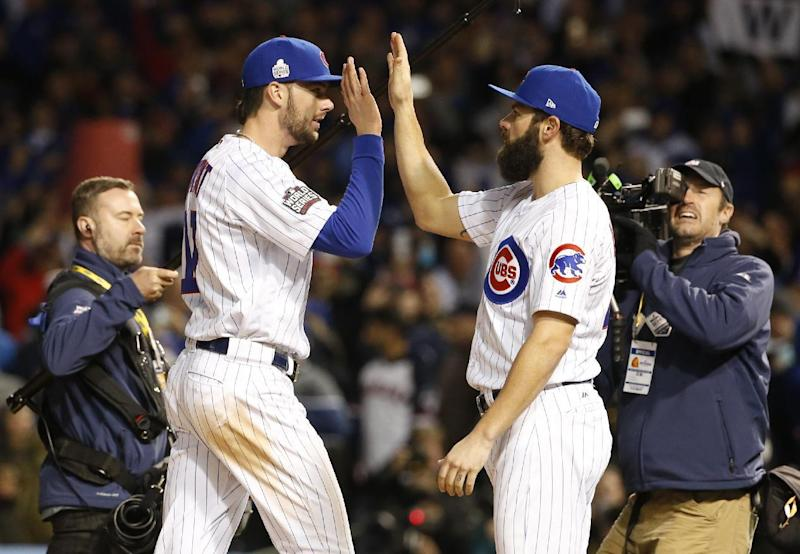 Cubs stay alive in World Series with 3-2 win