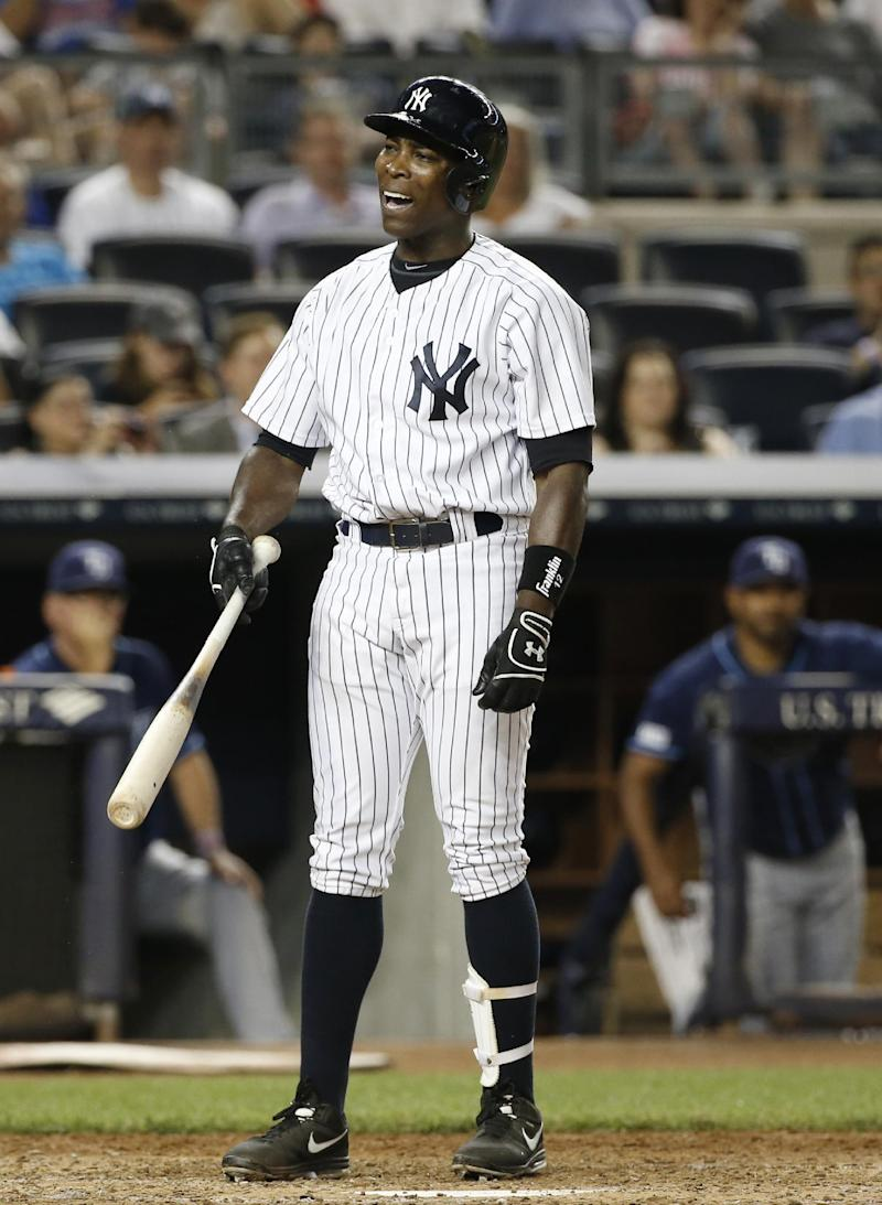 Yankees designate Alfonso Soriano for assignment