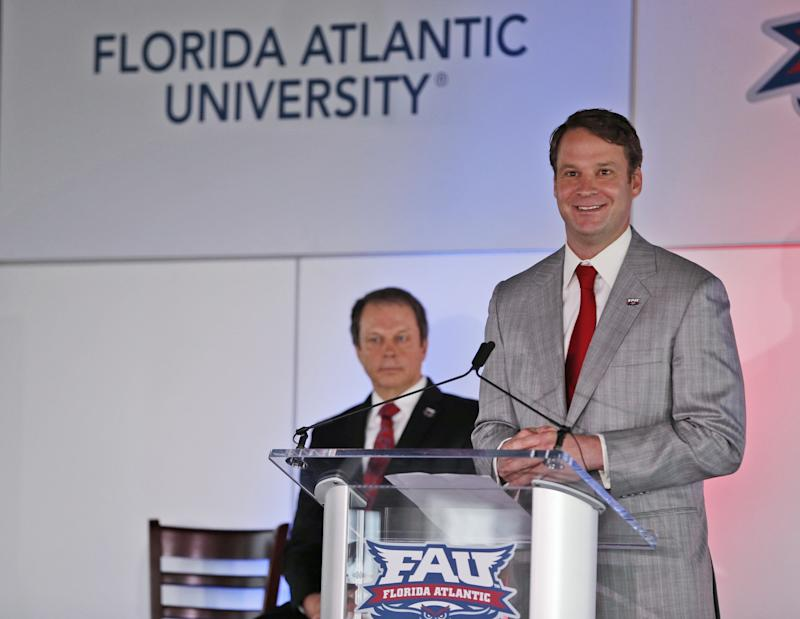 Florida Atlantic officially announces Lane Kiffin as head football coach
