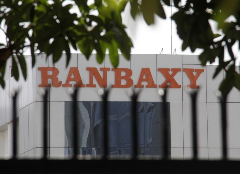A Ranbaxy office building is pictured in the northern Indian city of Mohali