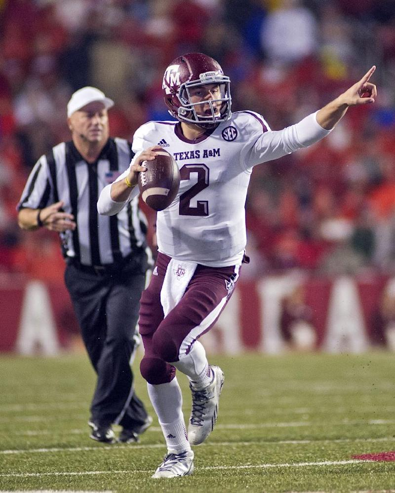 Manziel has another big season to lead No. 10 A&M