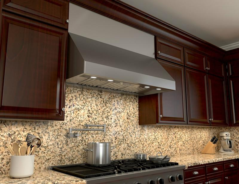 Zephyr Updates Tempest I and Tempest II Pro-Style Kitchen Range Hoods