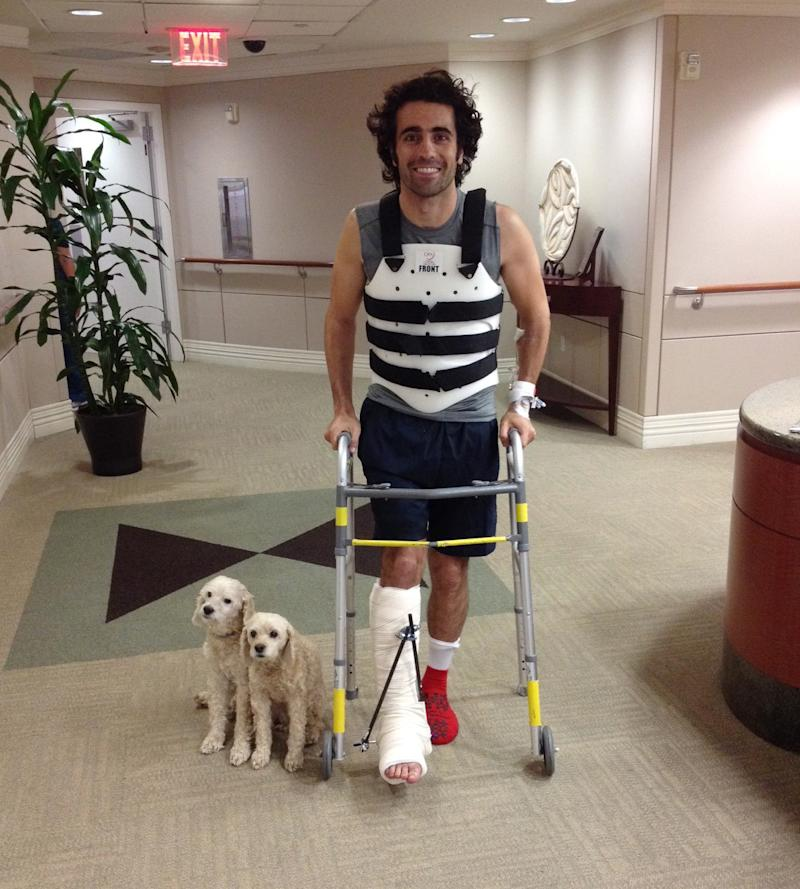Dario Franchitti released from Houston hospital