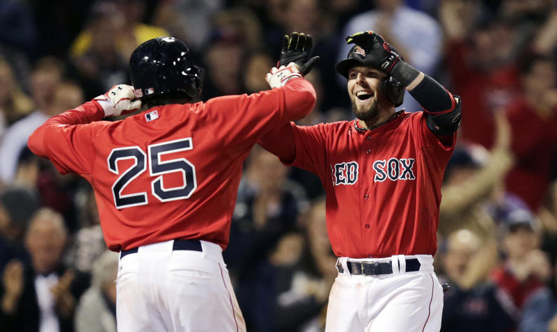 Pedroia slam helps Red Sox to 7-1 win over A's