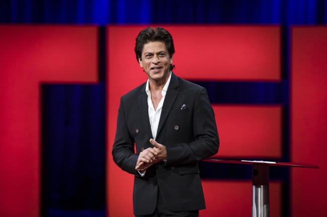 A Bollywood superstar just delivered the next viral TED talk