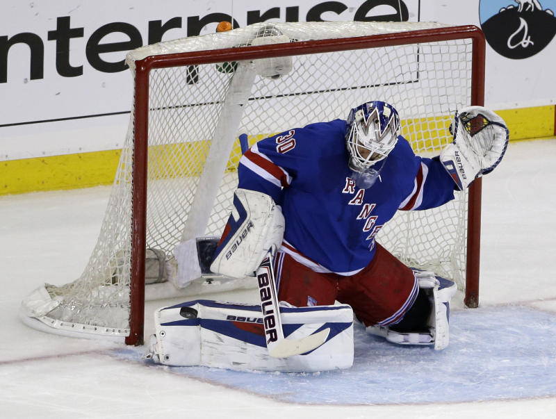 NYR G Lundqvist fined $5,000 for water incident