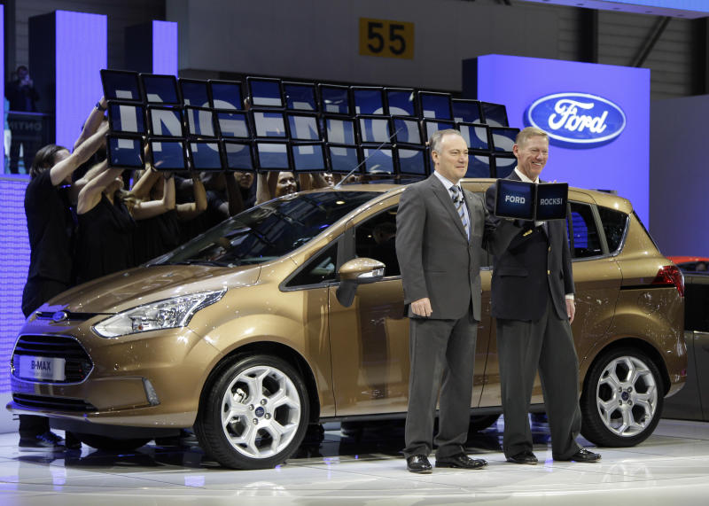 Ford launches B-Max subcompact