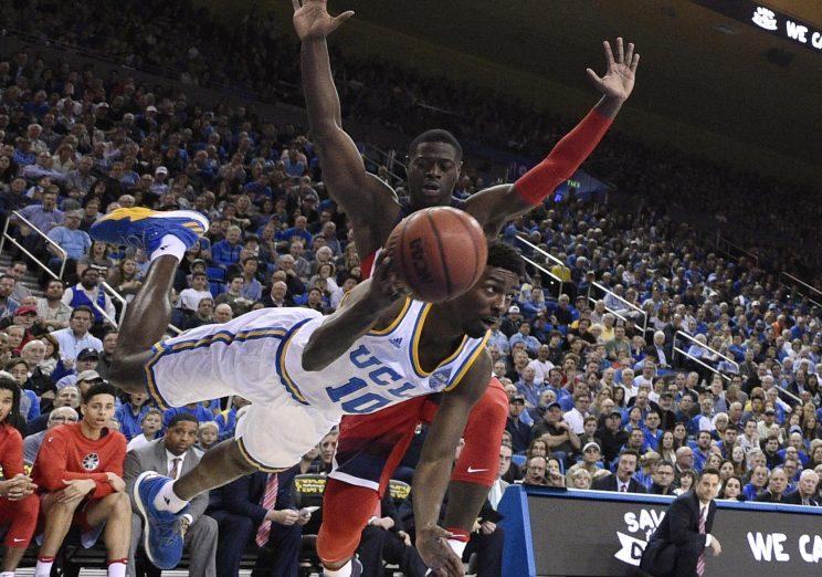 UCLA men's basketball falls to Arizona in defenseless manner