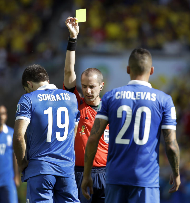 US referee Geiger gets marquee Spain-Chile match