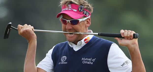 Poulter's Sunday charge comes up just short