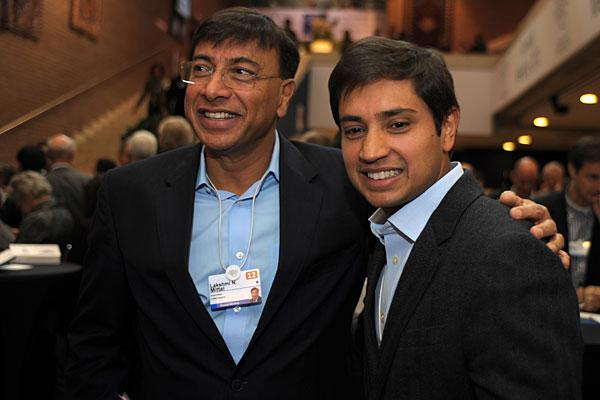 "<b>7. Lakshmi Mittal, 61</b> <br>Company: Arcelor-Mittal <br>Net worth: $19.1 billion <br>2011 compensation: $1,739,000<br><br>Lakshmi Mittal is the founder and CEO of ArcelorMittal — the world's largest steelmaker. <br><br>The 61-year old steel tycoon founded the company in 1976 as LNM Group, parting ways from his India-based family steel business, which he helped run to venture out on his own. The firm went on to merge with Arcelor in 2006 to form ArcelorMittal. <br><br>Mittal is also chairman of the group and his stake in the company is valued at $13.2 billion, according to Wealth-X. His other large assets include homes in London, U.K. valued at about $500 million, while his yacht named ""Amevi"" is worth $200 million. An avid soccer fan, Mittal also owns a <a href=""http://www.bbc.co.uk/sport/0/football/14566122"">33 percent </a>stake in English Premier League football club Queen's Park Rangers. <br><br>Other family members involved in ArcelorMittal include his son and heir apparent Aditya (pictured), who is the CFO, while daughter Vanisha is one of 10 board members. Vanisha's 2004 wedding to Amit Bhatia made headlines for its extravagance and is considered the third most expensive wedding in modern times, costing <a href=""http://news.bbc.co.uk/2/hi/3830009.stm"">more than $55 million</a>. The wedding took place at France's Versailles Palace and the senior Mittal reportedly paid for 1,000 guests to stay one week at five-star hotels in Paris. <br><br>Euro zone woes and falling steel demand have hit Mittal and his company hard. The steelmaker made headlines last October when it <a href=""http://www.reuters.com/article/2011/10/25/us-arcelor-macarthur-idUSTRE79O2NL20111025"">backed out of a deal</a> with U.S. coal giant Peabody to buy a nearly 60 percent stake in Macarthur Coal for $5 billion. Mittal, in turn, has seen his wealth shrink from $28 billion in 2011 to 19.1 billion, according to Wealth-X."