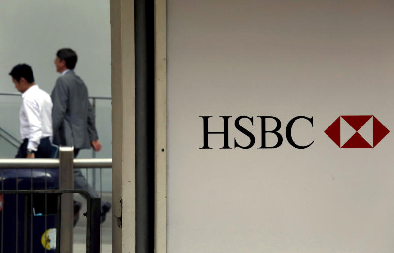 HSBC legal costs rise by $1.1 bln, shares slump