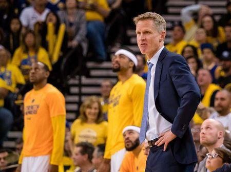 Warriors' Durant and Kerr out for Game 3 against the Blazers